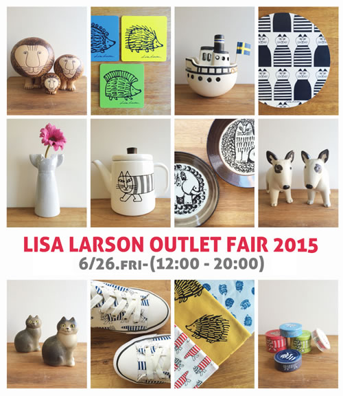 LISA LARSON OUTLET FAIR 2015