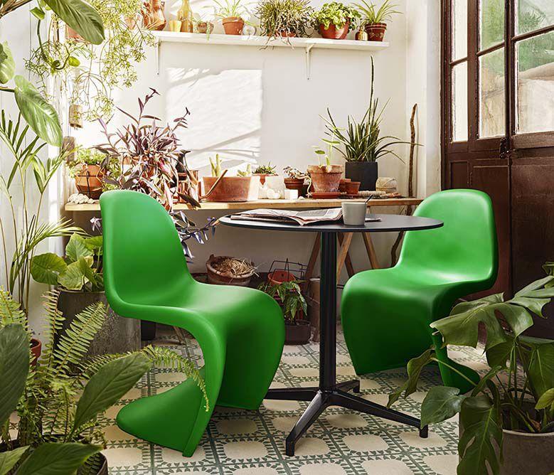 Panton Chair Summer Green_003