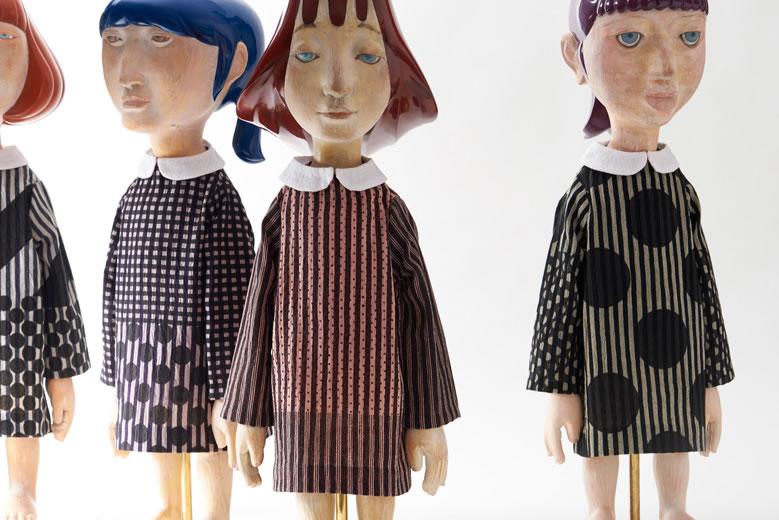 会津木綿と会津漆器の新しい可能性にフォーカス「めぐみある風景」展、開催中
