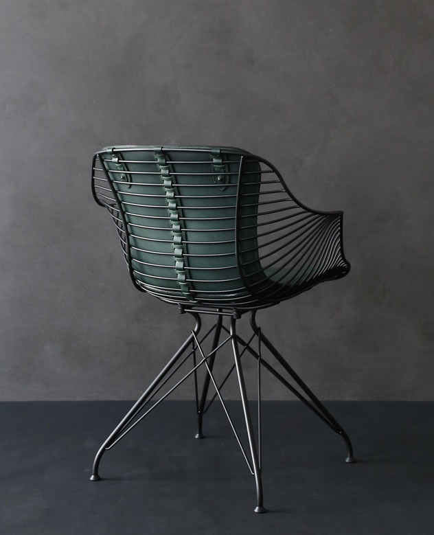 WireDiningChair_BritishRacingGreen