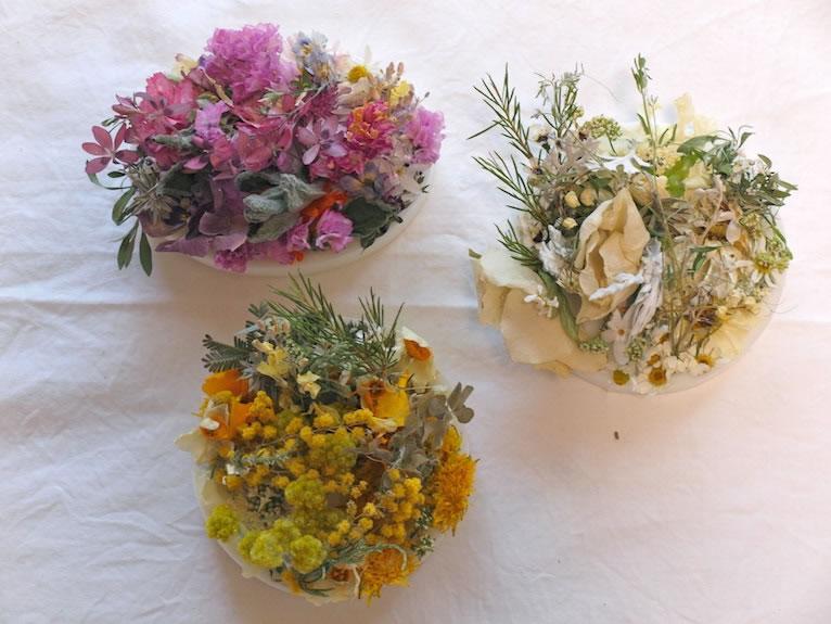 nuri candle wax bouquet