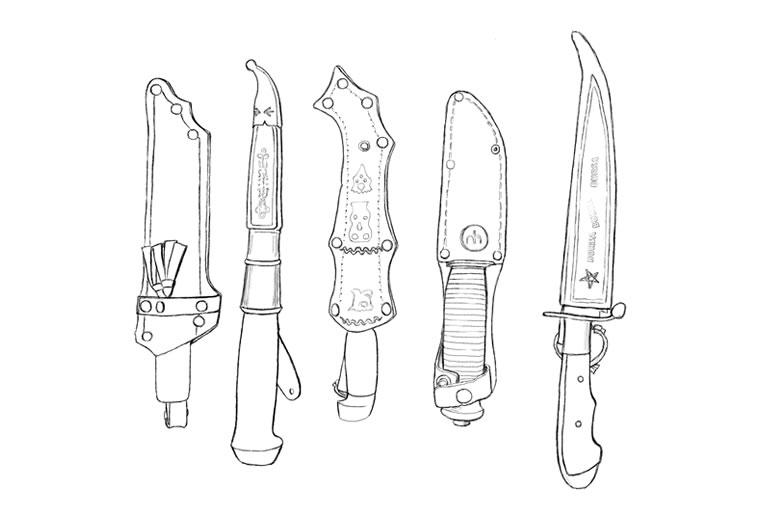 Shimazaki-Makoto-Knives