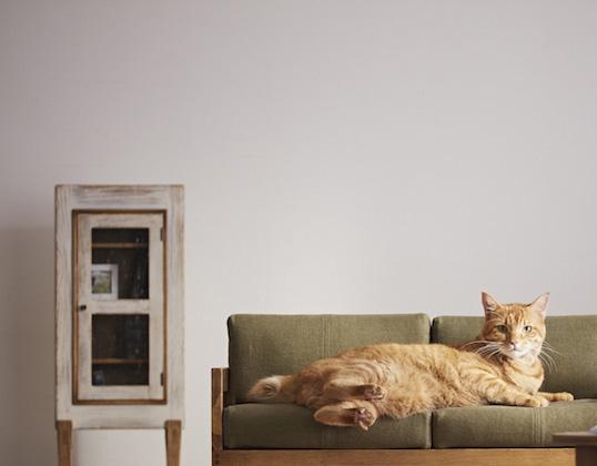 広松木工のペット用ソファ
