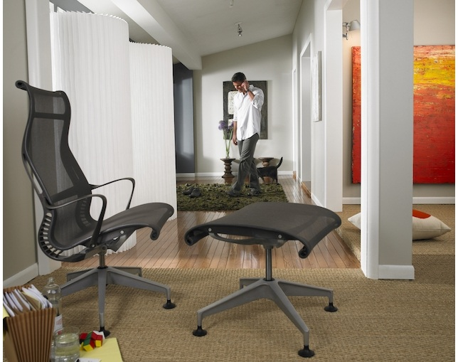 Herman Miller Setu Chair Lounge Chair アーム付のメイン写真