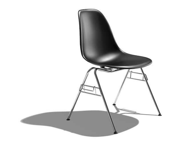 Herman Miller Eames Shell Chair Side Chair スタッキングベースの写真