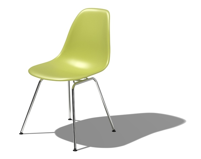 Herman Miller Eames Shell Chair Side Chair 4レッグベースのメイン写真