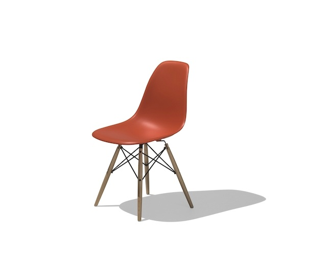 Herman Miller Eames Shell Chair Side Chair ダウェルベースのメイン写真
