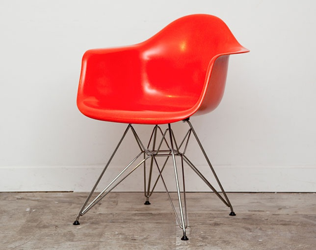 Herman Miller Eames Shell Chair Armchair ワイヤーベースのメイン写真