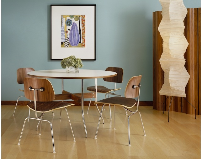 Herman Miller Eames Molded Plywood Dining Chair メタルレッグのメイン写真