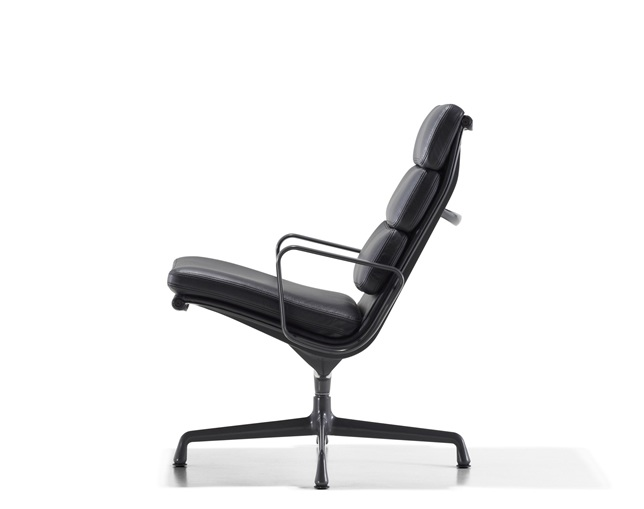 Herman Miller Eames Soft Pad Group Lounge Chair 3クッションのメイン写真
