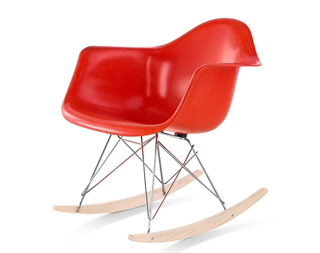 Herman Miller Eames Molded Fiberglass Armchair Rocker Baseのメイン写真