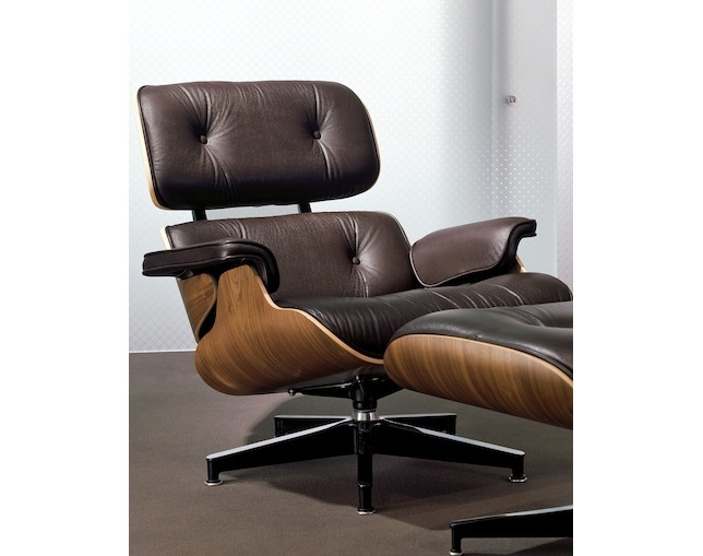 Herman Miller Eames Lounge Chair & Ottomanのメイン写真