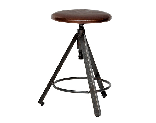 journal standard Furniture CHINON STOOL LEATHERのメイン写真
