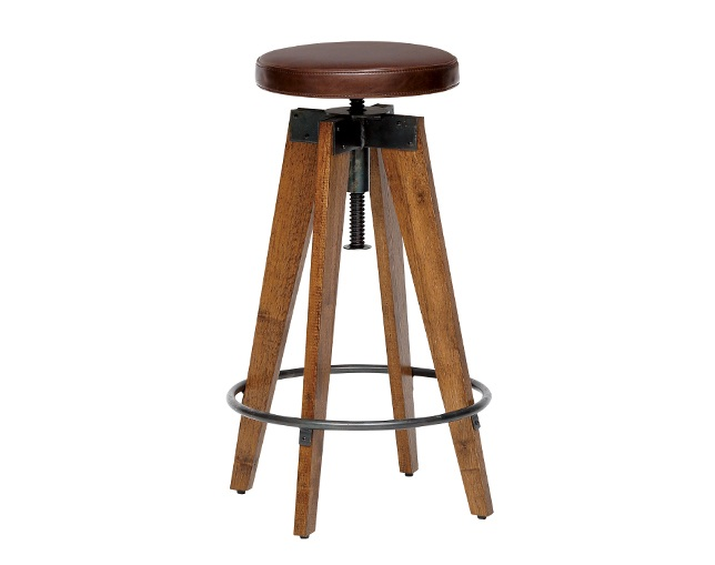 journal standard Furniture CHINON HIGH STOOL LEATHERの写真
