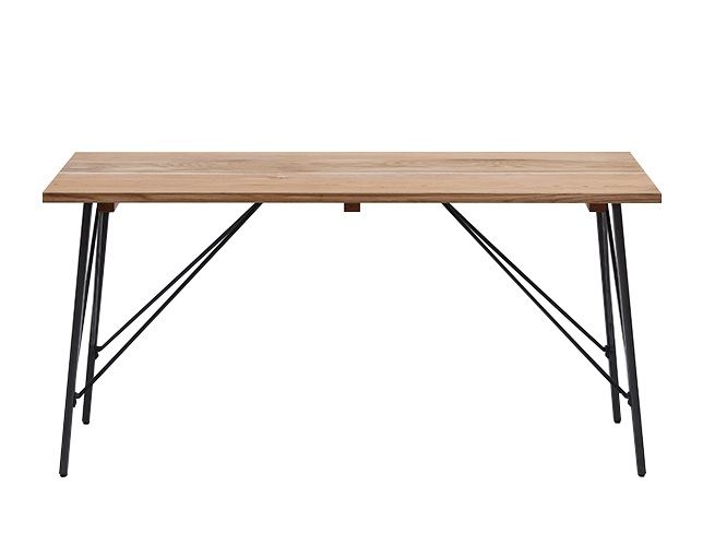 journal standard Furniture CHINON DINING TABLE NATURAL MEDIUMのメイン写真