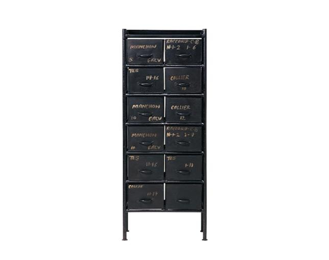 journal standard Furniture GUIDEL 12 DRAWERS CHESTの写真