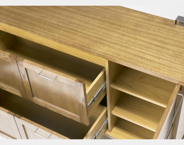 journal standard Furniture BRISTOL KITCHEN COUNTER (アッシュ材)の写真