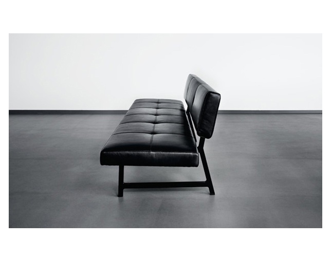 WALTER KNOLL Foster 510 Bench with backrestのメイン写真