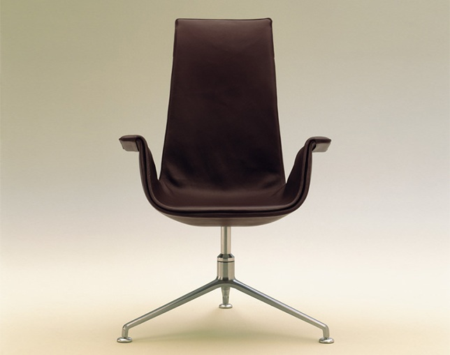 WALTER KNOLL FK High Back Armchairのメイン写真