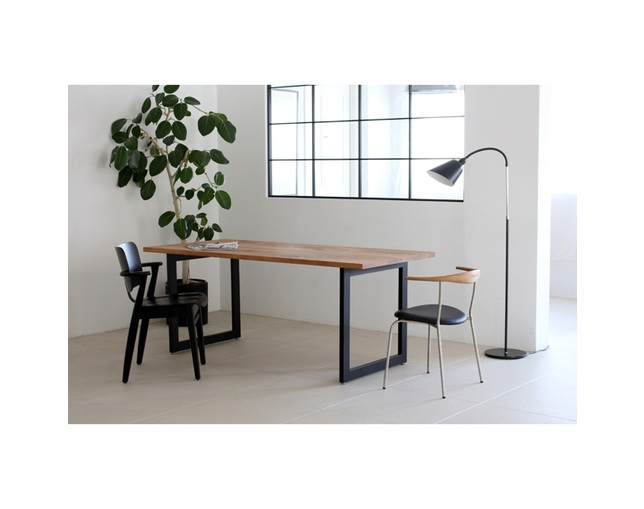 karf Knot Dining table / OAKのメイン写真