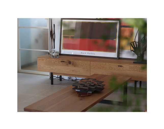karf Knot TV Board / Oakのメイン写真