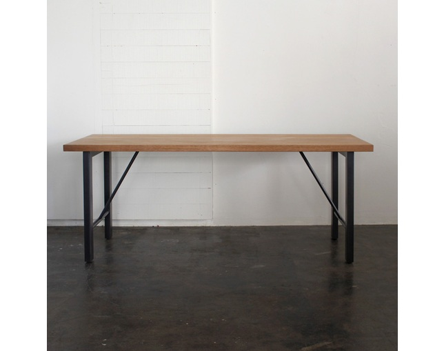 karf Holz Metal leg table のメイン写真