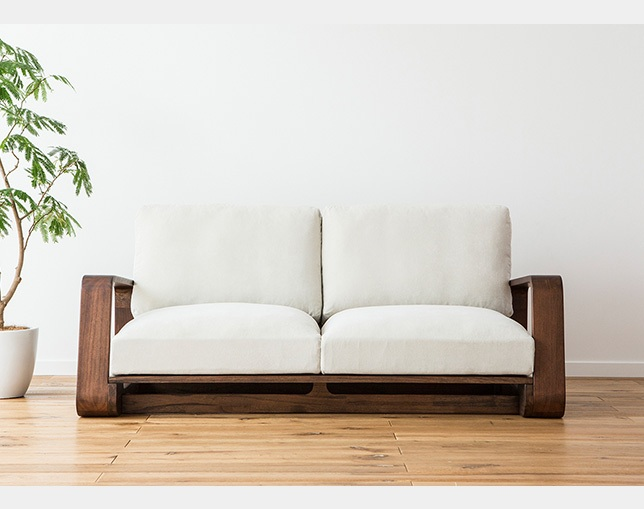 a.flat TEN high back sofa 2.5Pのメイン写真