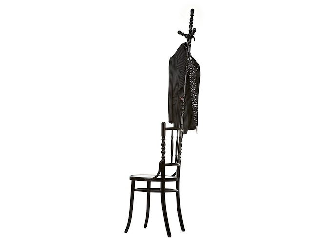 moooi Extension Chair with Coat Standのメイン写真