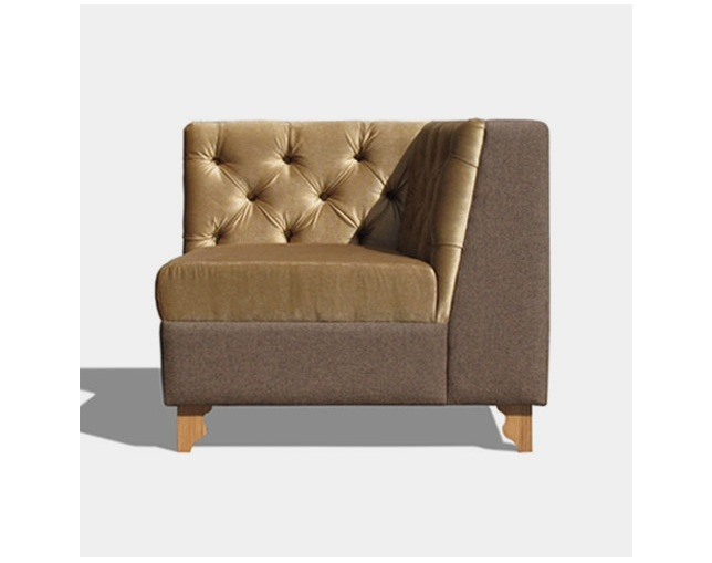 William Warren ENGLISH PUB SOFA SINGLEの写真