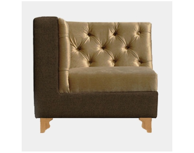William Warren ENGLISH PUB SOFA SINGLEのメイン写真
