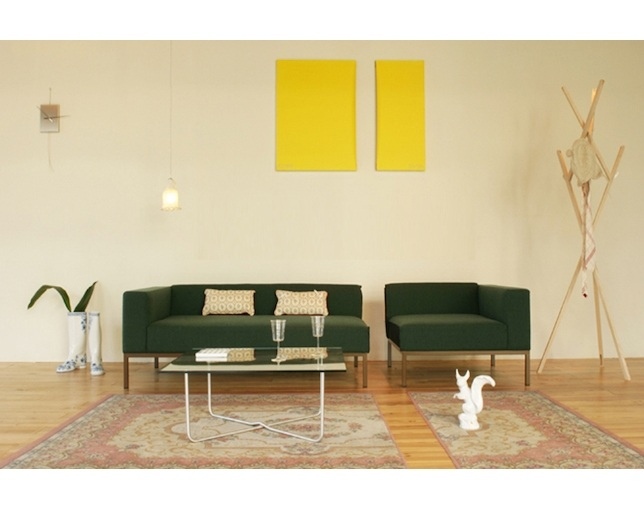 Airconditioned KARATE CHOP SOFA SET(1P+2P)のメイン写真