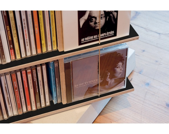 Nils Holger Moormann MUSICSTABLER Ratational CD Shelfの写真