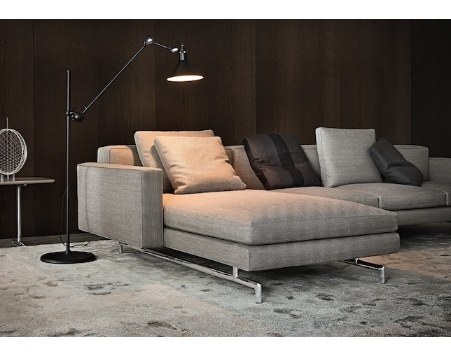 Minotti SHERMAN.93 LOW BACK W207のメイン写真
