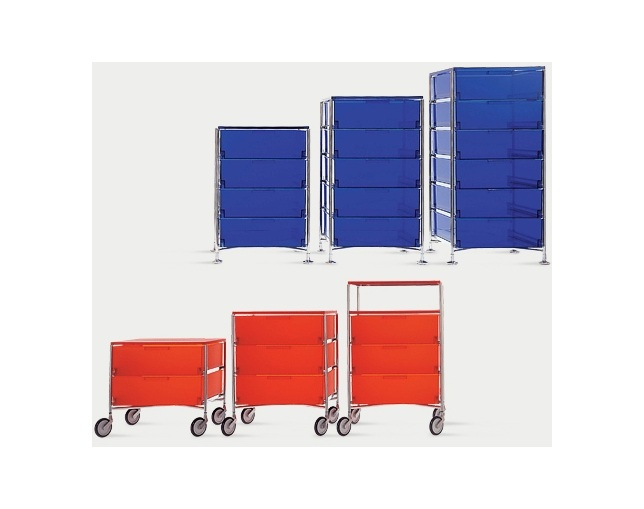 Kartell MOBIL 6 CONTAINERSの写真
