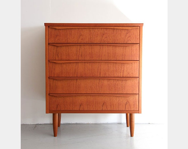 SAC WORKS 5DRAWERS CHEST RF-044のメイン写真