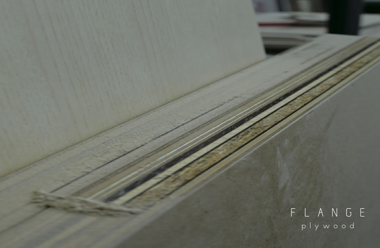FLANGE plywoodの写真