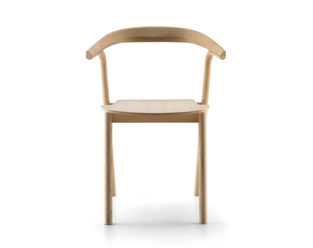 ALKI Chair wooden seat / fabric / leather のメイン写真