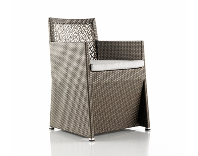 EXPORMIM Dining armchair 'Tunis' synthetic fiber(C507)のメイン写真