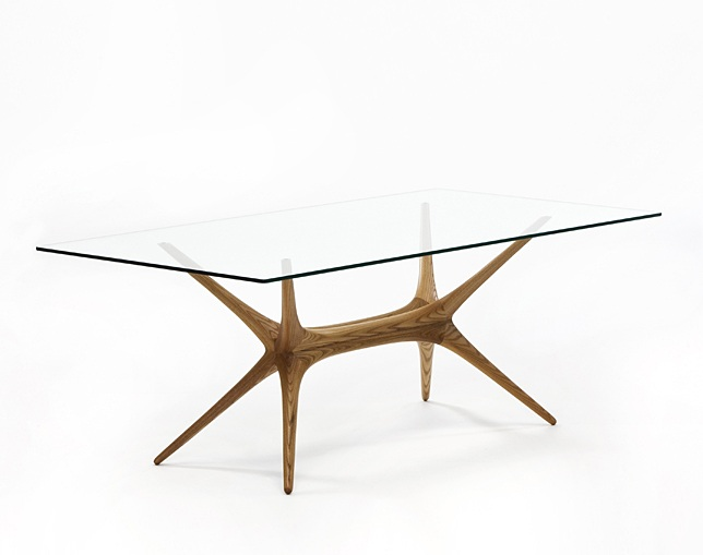 Artek X-FRAME GLASS TOP TABLEのメイン写真