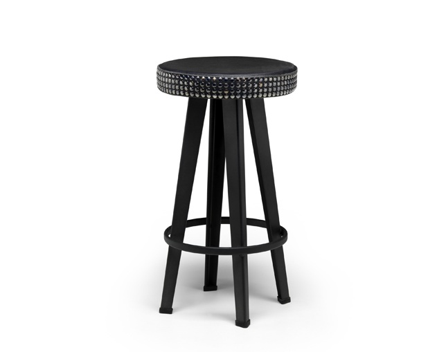 DIESEL LIVING Bar Stud Stool-Lowのメイン写真