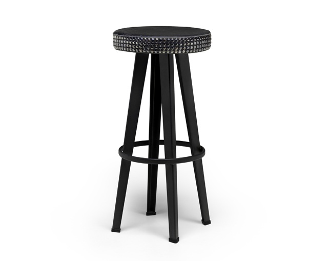 DIESEL LIVING Bar Stud Stool-Highの写真