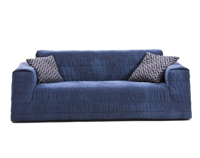DIESEL LIVING Mr. Softy Sofa Denim 240のメイン写真