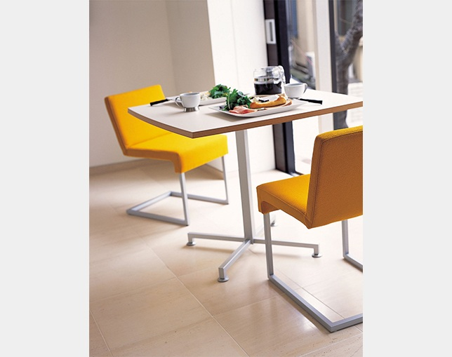 AIDEC MODERN Table WOOF-SQのメイン写真