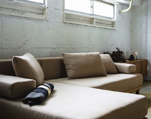 SIEVE rect.unit sofa longの写真