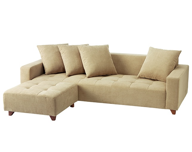 unico QUEUE sofa ottomanの写真