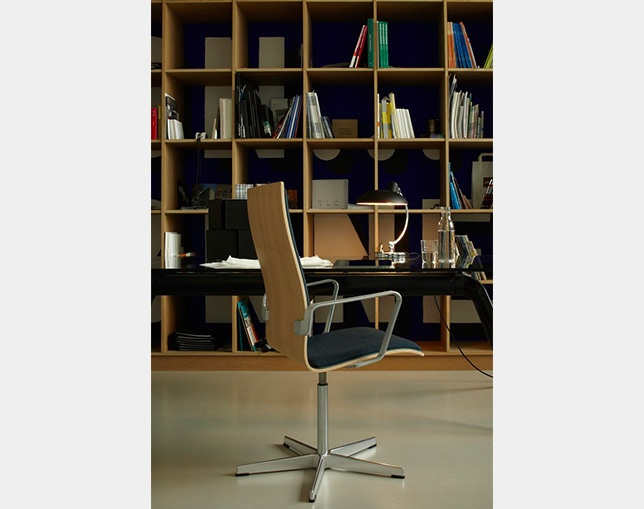 Fritz Hansen OXFORD ARMCHAIR(medium back、FRONT UPHOLSTERY)のメイン写真