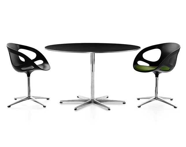 Fritz Hansen TABLE SERIES PEDESTAL BASE(6stars base、Circular)のメイン写真