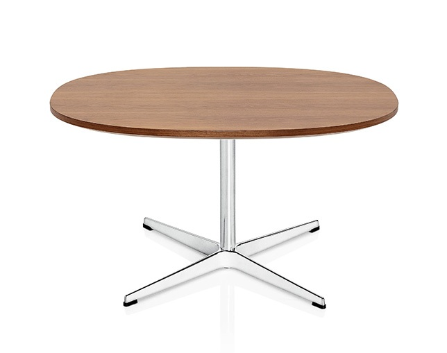 Fritz Hansen TABLE SERIES PEDESTAL BASE(Coffee table、4stars base、Supercircular)のメイン写真