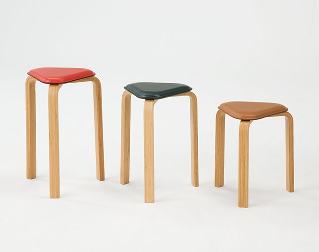 TAKE Create Hagi Hagi Bamboo Stool highのメイン写真