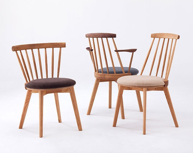 BENCA JASMINE Dining chair H armのメイン写真